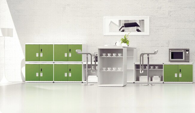 Circle Steel Cabinet - Product image